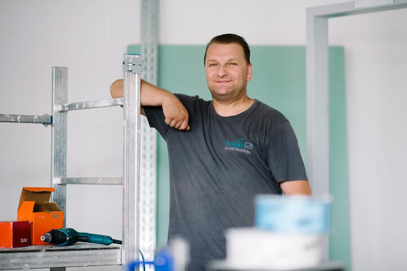 Marek Orzol, Trockenbauer - Wetzl Innenausbau