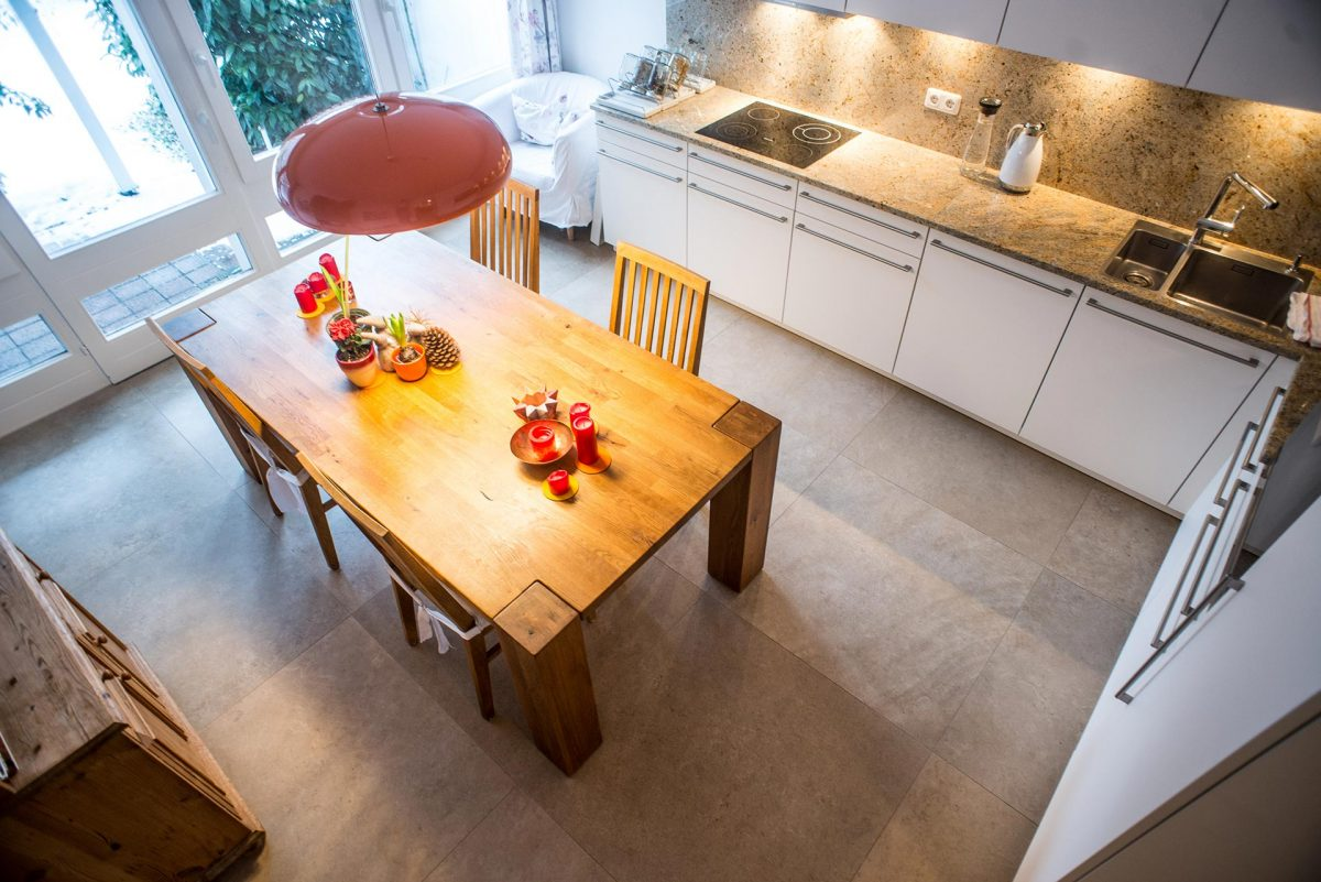 Küchen Installation, Essbereich - Wetzl Innenausbau, München